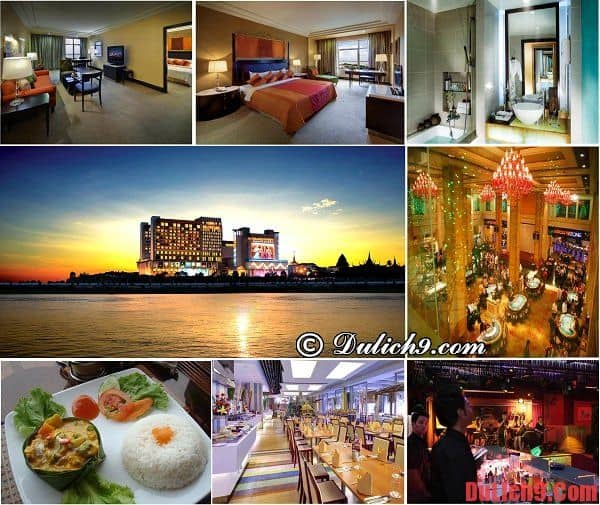 Khách sạn 5 sao đẳng cấp, sang trọng hiện đại nhất Phnom Penh, Campuchia - Thủ đô Phnom Penh có khách sạn nào đẹp, tiện nghi đầy đủ