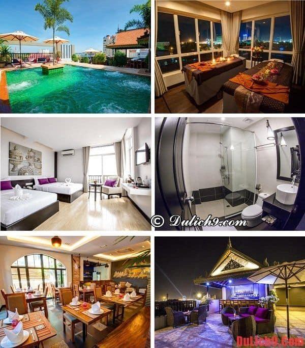 Khách sạn cao cấp, tiện nghi nổi tiếng Phnom Penh được yêu thích nhất - Du lịch Phnom Penh ở khách sạn nào đẹp, dịch vụ tốt?