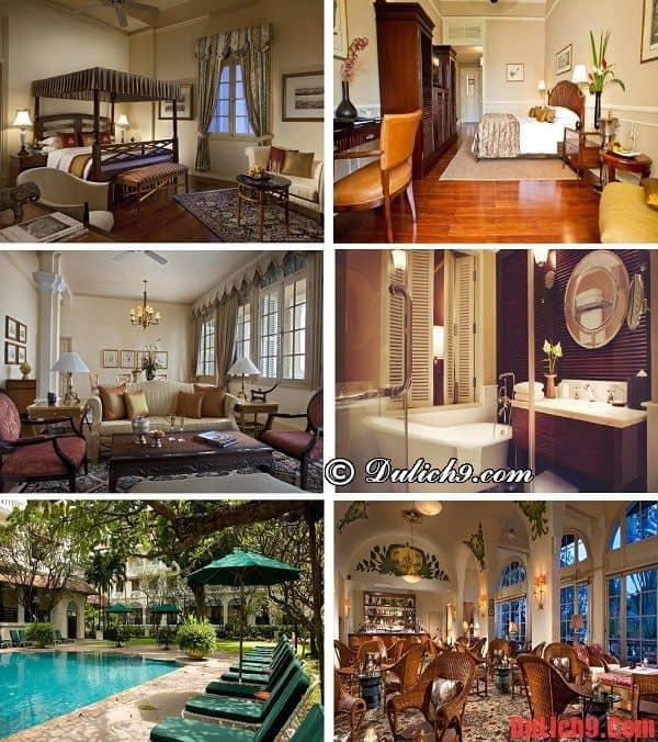 Khách sạn 5 sao sang trọng, xa hoa, cao cấp nổi tiếng Phnom Penh được ưa chuộng và đánh giá cao