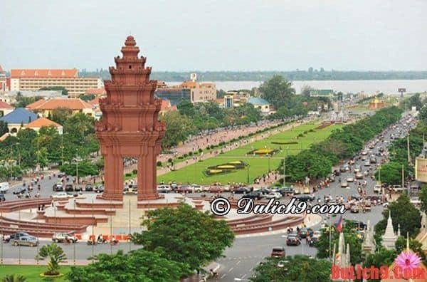 Khách sạn tốt, đẹp, cao cấp, tiện nghi, hiện đại, chất lượng, dịch vụ tốt được yêu thích nhất Phnom Penh