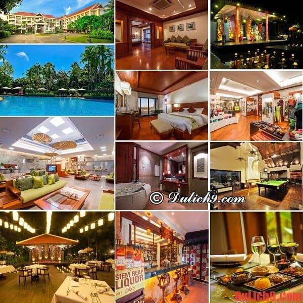 Khách sạn sang trọng, đẳng cấp, dịch vụ tốt, tiện nghi hiện đại, nổi bật gần trung tâm Siem Reap được yêu thích và đặt phòng nhiều