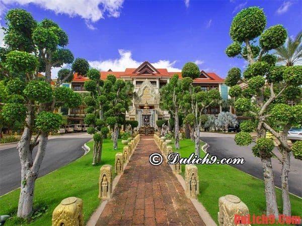 Du lịch Siem Reap, Campuchia nên ở khách sạn cao cấp, tiện nghi hiện đại, chất lượng và giá tốt nào? Du lịch Siem Reap nên ở khách sạn nào?