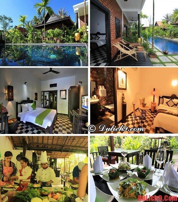 Khách sạn cao cấp, hiện đại, chất lượng, giá tốt, gần trung tâm được ưa chuộng và đặt phòng nhiều nhất khi du lịch Siem Reap
