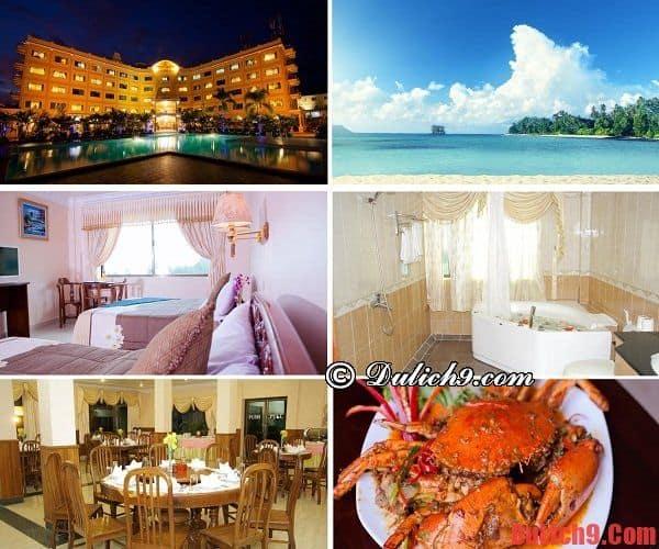 Golden Sand Hotel - Khách sạn cao cấp, tiện nghi, đẹp, có bãi biển riêng nổi tiếng được yêu thích và đặt phòng nhiều ở Sihanoukville