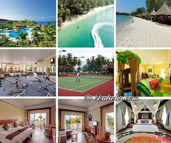 Khách sạn cao cấp, tiện nghi,dịch vụ tốt, có bãi biển riêng sạch đẹp được đặt phòng nhiều nhất Sihanoukville