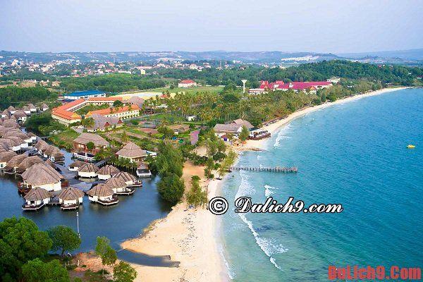 Khách sạn tốt, đẹp, chất lượng, tiện nghi, gần biển được yêu thích nhất Sihanoukville, Campuchia
