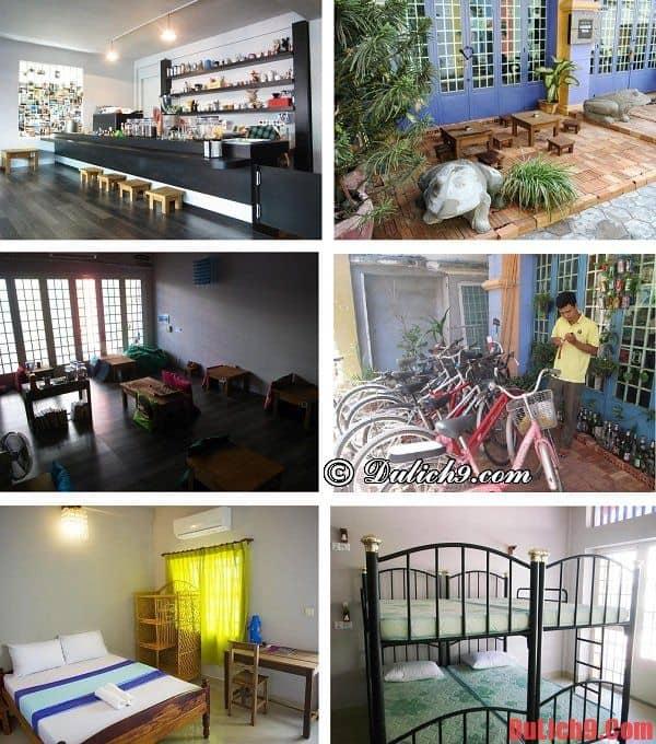 Khách sạn bình dân giá rẻ đẹp, độc đáo, chất lượng được ưa thích và đặt phòng nhiều khi du lịch Siem Reap, Campuchia