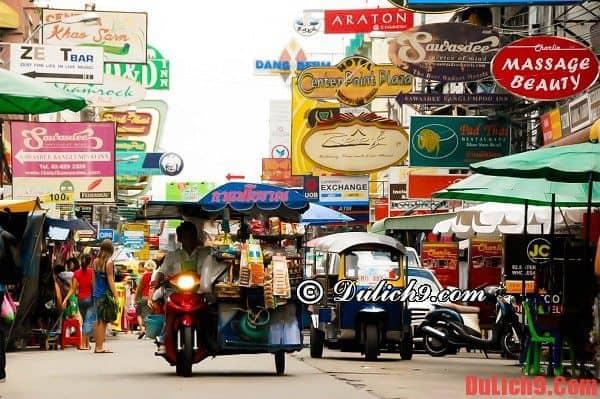 Khách sạn đẹp, giá rẻ, chất lượng, tiện nghi, được yêu thích và nổi tiếng phố Khaosan, Bangkok