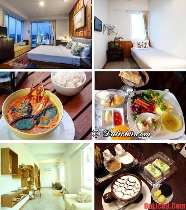 Khách sạn bình dân, giá tốt, đồ ăn ngon, view đẹp, tiện nghi, an toàn được đánh giá cao và yêu thích nhất khu phố Khaosan, Bangkok. Danh sách các khách sạn đẹp, giá tốt ở đường Khaosan Bangkok