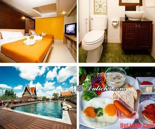 Khách sạn bình dân có hồ bơi, tầm nhìn đẹp, nổi tiếng nhất trung tâm Khaosan, Bangkok
