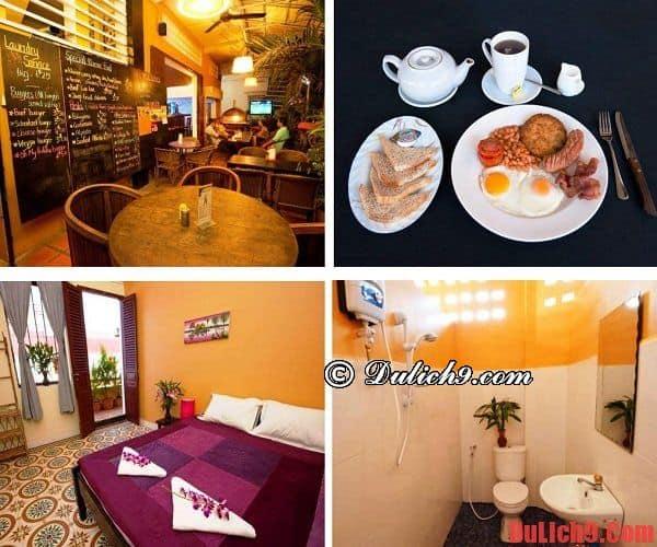 Khách sạn giá rẻ tốt, đẹp, chất lượng nên ở nhất khi du lịch Phnom Penh, Campuchia