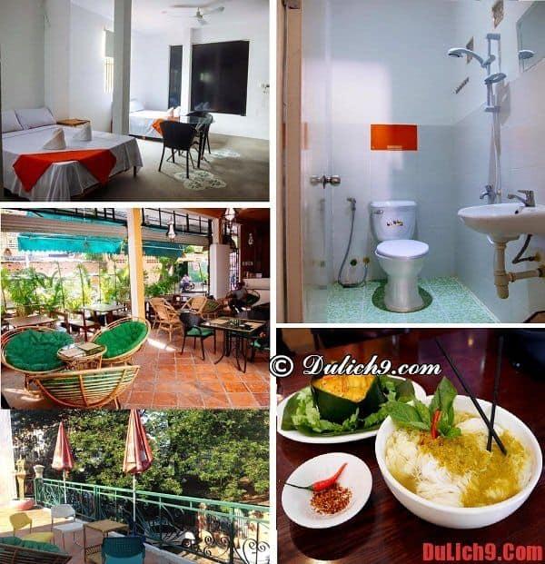 Khách sạn bình dân, giá tốt, view đẹp, yên tĩnh, giao thông thuận tiện, đồ ăn ngon nên ở khi du lịch Phnom Penh