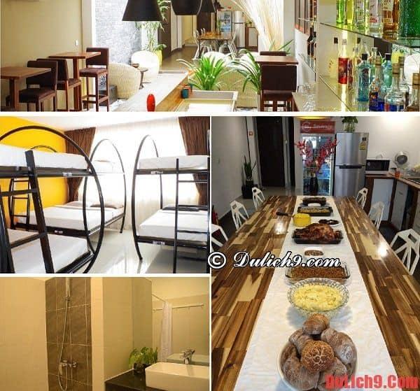 Khách sạn bình dân, giá rẻ đẹp, độc đáo, tiện nghi, có bếp nấu ăn nổi tiếng được đánh giá cao nhất Phnom Penh