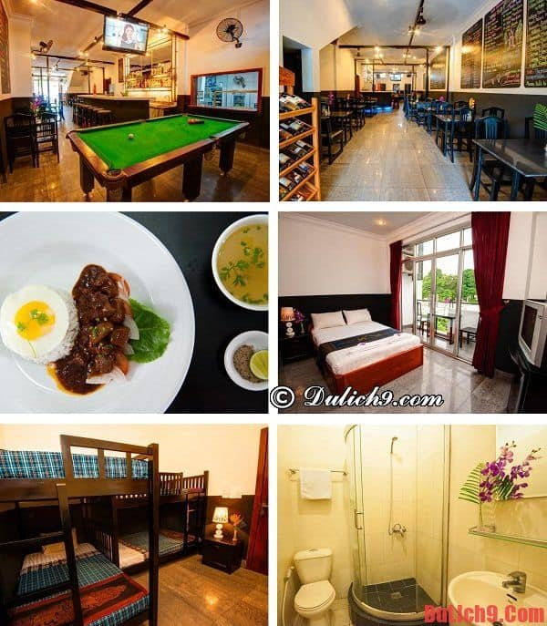 Khách sạn bình dân sạch đẹp, chất lượng, tiện nghi, ăn uống ngon, đi lại thuận tiện nhiều khách đặt phòng nhất Phnom Penh