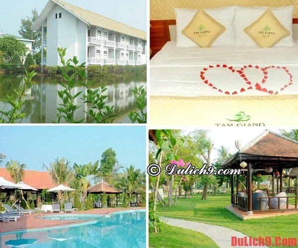 Resort giá rẻ gần bãi biển Thuận An
