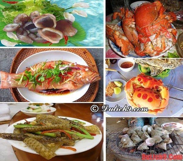 Các món ăn đặc sản địa phương của đảo Phú Quý