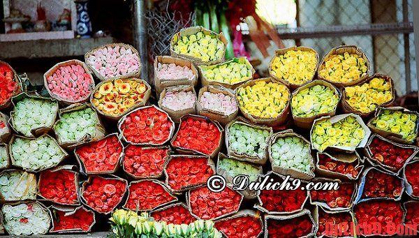 Chợ hoa Hồ Thị Kỷ - nổi tiếng nhất Sài Gòn ngày tết
