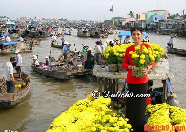 Chợ hoa Hậu Giang tràn ngập hoa - Những chợ hoa ngày tết nổi tiếng ở Sài Gòn