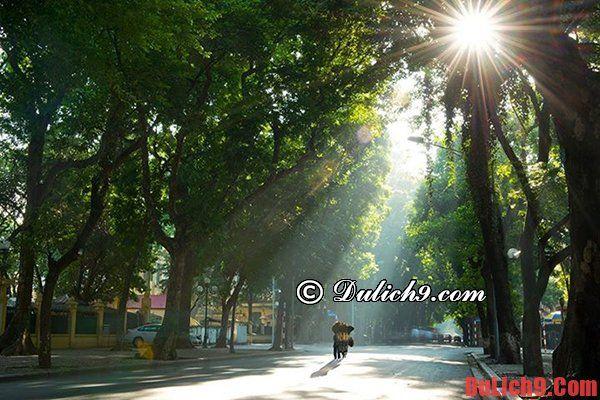 Địa điểm chụp ảnh đẹp ở Hà Nội ngày cuối tuần: Đi đâu chụp ảnh ở Hà Nội đẹp nhất?