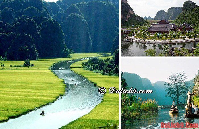 Điểm du lịch nổi tiếng gần Hà Nội.