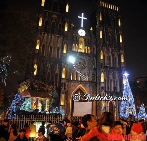 Điểm đến nổi tiếng mùa giáng sinh ở Hà Nội