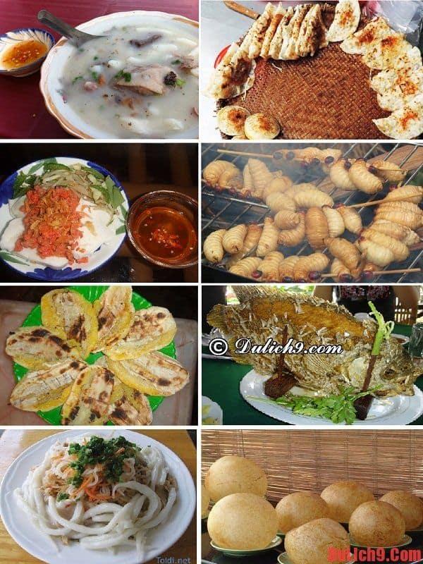 Những món ăn phải thử khi du lịch miền Tây dịp Tết 2016