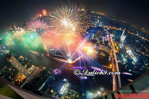 Gợi ý những khu vực nên ở để xem pháo hoa và đón năm mới lý tưởng nhất khi du lịch Bangkok dịp tết 2016