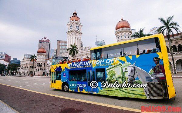 Kinh nghiệm du lịch Kuala Lumpur 24 giờ bằng bus KL hop on hop off
