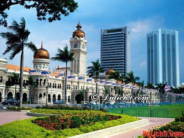 Thời gian du lịch Kuala Lumpur tuyệt vời và lý tưởng nhất