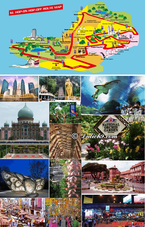 Những điểm đến nổi tiếng không thể bỏ qua trong 24h du lịch Kuala Lumpur
