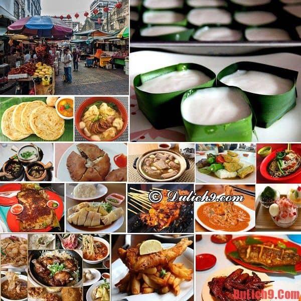 Những món ngon phải thử trong 24h du lịch Kuala Lumpur bằng hop on hop off