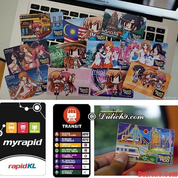 Kinh nghiệm tiết kiệm tiền sử dụng phương tiện công cộng khi du lịch Kuala Lumpur. Kinh nghiệm du lịch Kuala Lumpur giá rẻ