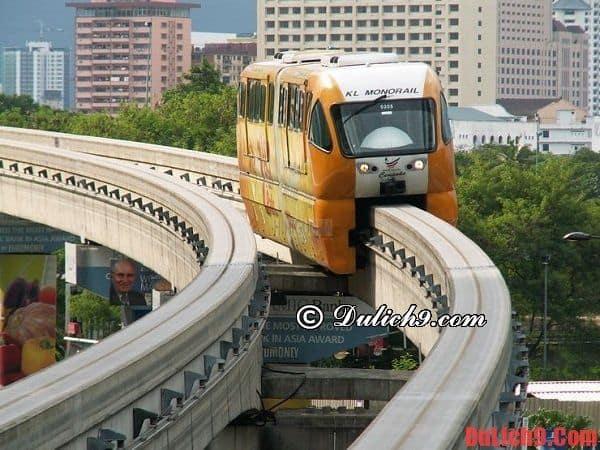Hướng dẫn di chuyển trong nội thành Kuala Lumpur