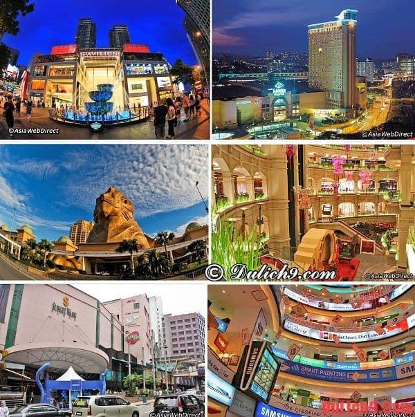 Những địa chỉ mua sắm nổi tiếng ở Kuala Lumpur