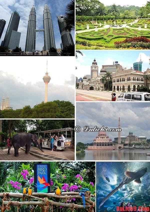 Những điểm tham quan nổi tiếng ở Kuala Lumpur mà bạn nhất định phải ghé qua một lần