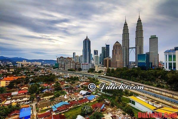 Kinh nghiệm, hướng dẫn du lịch Kuala Lumpur tự túc và tiết kiệm đầy đủ, chi tiết