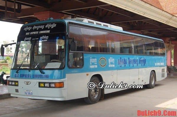 Hướng dẫn các di chuyển đến Phnom Penh thuận lợi và tiết kiệm nhất - Kinh nghiệm du lịch Phnom Penh tự túc, giá rẻ