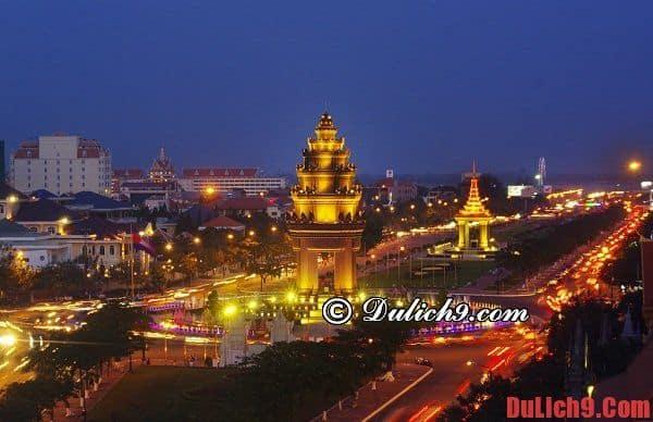 Kinh nghiệm du lịch bụi Phnom Penh dịp Tết chỉ với 1,5 triệu đồng. Hướng dẫn lịch trình du lịch Phnom Penh 3 ngày 2 đêm giá rẻ