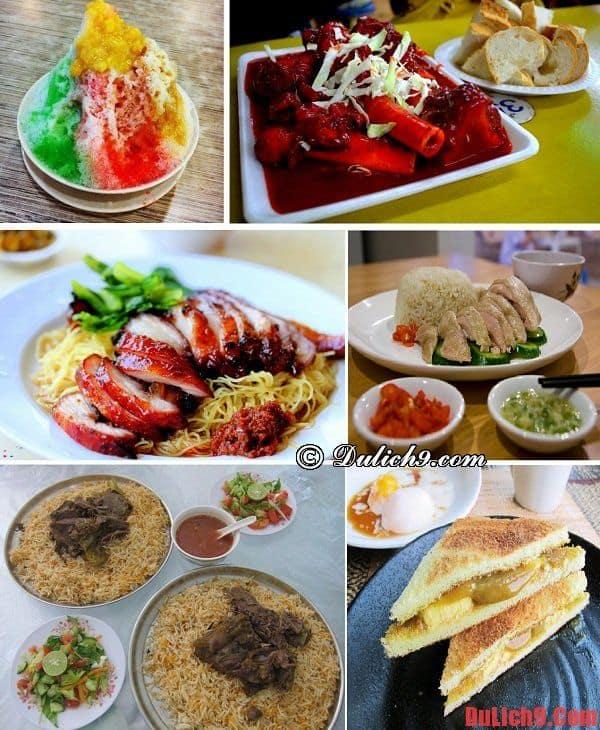 Những món ngon phải thử khi du lịch Singapore Tết năm