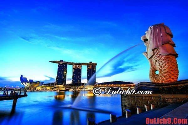 Du lịch tự túc, tham quan và khám phá Singapore trong 4 ngày Tết năm 2021