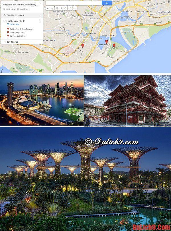 Lịch trình 4 ngày tham quan, du lịch Singapore dịp Tết. Kinh nghiệm, hướng dẫn du lịch Singapore 4 ngày tự túc, giá rẻ
