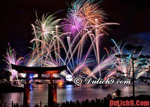 Đón năm mới ở những địa điểm du lịch tuyệt vời nổi tiếng thế giới