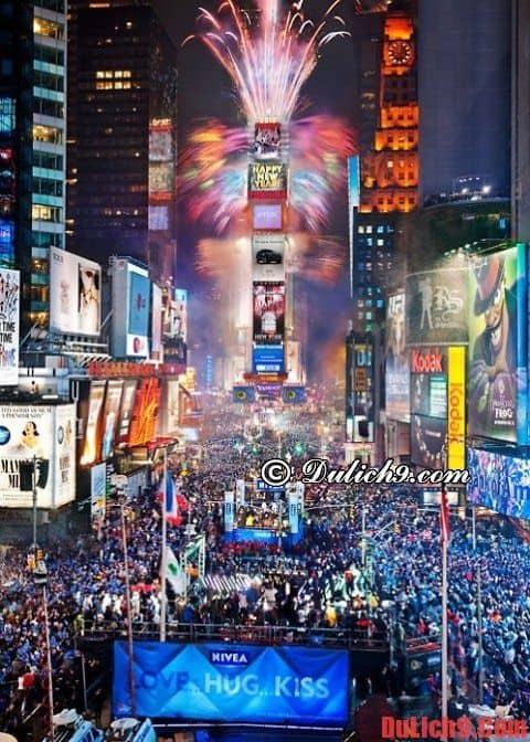 Những điểm du lịch đón năm mới lý tưởng và tuyệt vời nhất trên thế giới