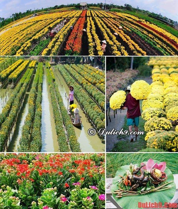 Du lịch làng hoa Sa Đéc, Đồng Tháp dịp Tết