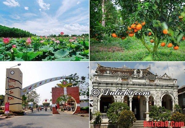 Những địa điểm tham quan không thể không đến khi du lịch làng hoa Sa Đéc dịp nghỉ lễ Tết