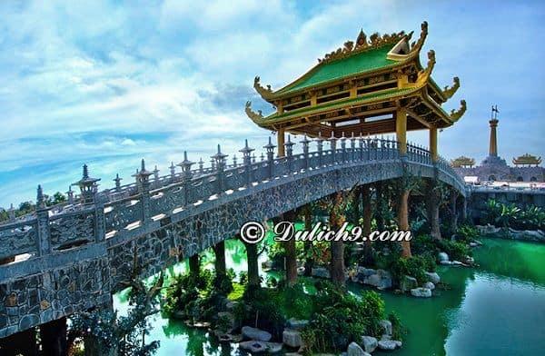 Khu du lịch Đại Nam Văn Hiến có gì chơi?