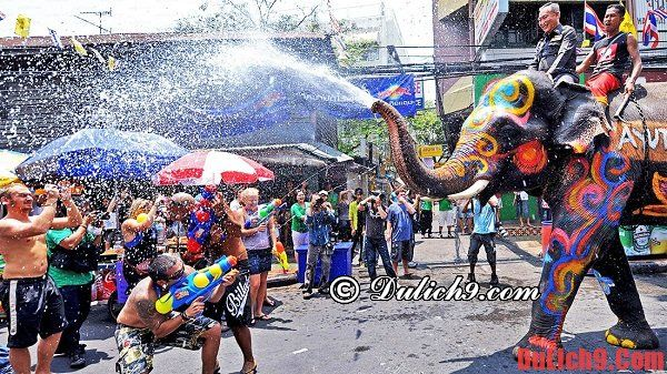 Những điều cần biết khi du lịch Thái Lan dự lễ hội té nước Songkran 2016
