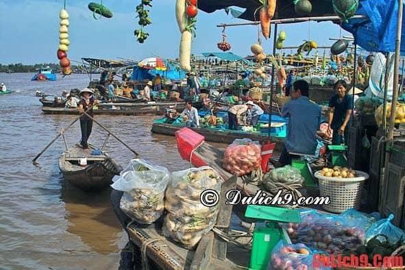 Hướng dẫn du lịch chợ nổi Cái Răng