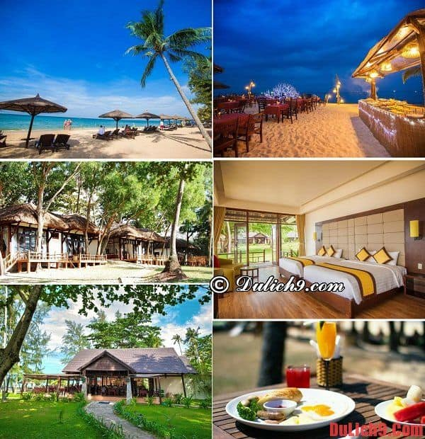Khách sạn chất lượng, tiện nghi, gần biển, view đẹp, giá tốt và được đánh giá cao nên ở khi du lịch Phú Quốc