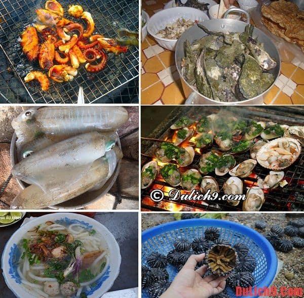 Kinh nghiệm ăn uống khi du lịch đảo Điệp Sơn tự túc